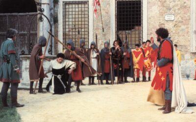 Arnaldo da Brescia, l'eretico catturato a San Quirico come lasciapassare all'incoronazione del Barbarossa
